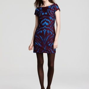 Nanette Lepore Wild One Lace Panel Mini Dress